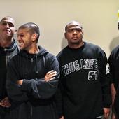 Racionais Mc's antes do show no sesc em 2009 (Mano Brown, Kl-Jay, Edy Rock e Ice…