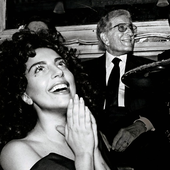 Lady Gaga & Tony Bennett For Seven (PNG)