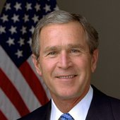 George Bush presidential portrait