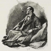 Sherlock Holmes (by Sidney Paget)