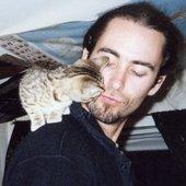 Dave w/ kitten