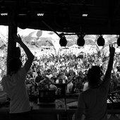 Protonica Live @ OZORA Festival 2011, Hugary (Photo by Anjin Windgasse)