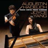 Franck, Kurtág, Previn & Schumann: Music for Violin & Piano