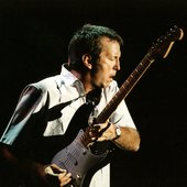 Eric Clapton w/ Fender Strat