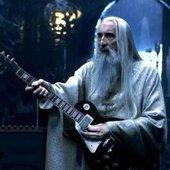Saruman ist Metal