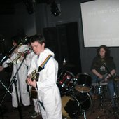 another gig: note 1 x permanantly missing white forensic suit