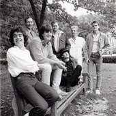 The very first Galahad line up - Christchurch, 1985