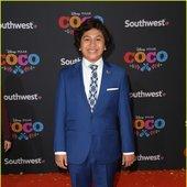 Anthony Gonzalez at premiere of Pixar's 'Coco'