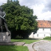 Dvořák's memorial and birthplace in Nelahozeves