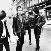 The Clash Photo by Adrian Boot