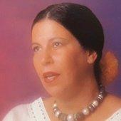 Nana Caymmi na contracapa do disco Nana (1985)