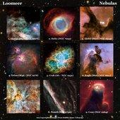 Loomeer - Album Nebulas colage