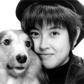 香ちゃんと愛犬リキ