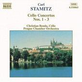 Stamitz: Cello Concertos Nos. 1-3