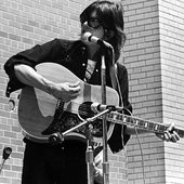 Gram at Queens College in New York, 1970.