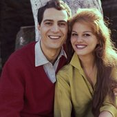 Nino Manfredi e Claudia Cardinale