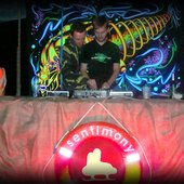 """Tentura at \""""Sentimony: Water Marks\"""" - chill-out open-air concert (August 2010)"""