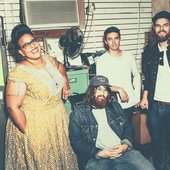 Alabama Shakes: Brittany Howard, Zac Cockrell, Heath Fogg, and Steve Johnson - Photo credit: Brantley Gutierrez