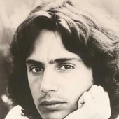 Jean Michel Jarre, young.