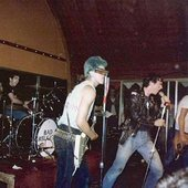 Bad Religion opening for The Dead Kennedys 1982