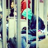 Jenova 7 - Live MPC beatmaking on the Subway in Boston