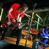 A Place To Bury Strangers @ South Street Seaport, NYC