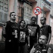 Baixo Calão band - Brazilian Grind