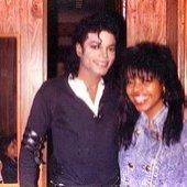 Shanice with MJ