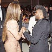 Beyoncé and Abel Tesfaye