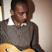 Wafande og guitar