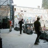 dogpiss in vienna 1999, dickie hammond, the mod,ronnie turnip and jools.