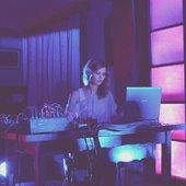 Glazova performing at Vilnius Noise Week, September 2012