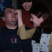Тимофея таскают за нос, за то что пел слишком тихо.