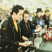 The Clash lost in a supermarket, 1979