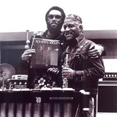 Roy with Joe Brazil