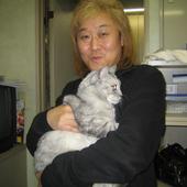 kenji kawai and kitten (reupload in PNG)