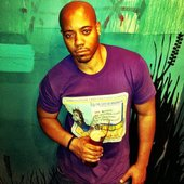 Trew Music in ODB tee ... styled by Bisoux, LLC
