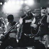 Masa, Djino and Mario on stage