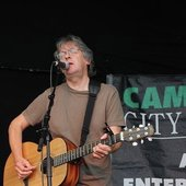 Playing the Cambridge Folk Festival in 2007