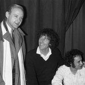 William Sheller, Alain Souchon et Michel Jonasz, à Paris en 1979.
