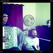 Recording new album with strictly accordion and bass harmonica... WITCHATTA!