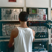 Toral in his studio, Lisbon, August 2006