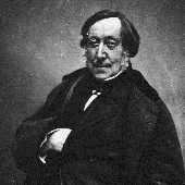 Gioacchino Rossini by Félix Nadar