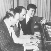 Jack Gibbons with George Gershwin and Fred Astaire
