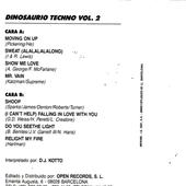 Dinosaurio Techno Vol. 02-caratulilla-interior
