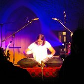Ravid playing Calm Upon You Live at St Ethelburgas