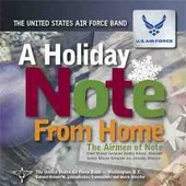 "he Airmen of Note's ""A Holiday Note From Home\"" CD"