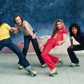 Van Halen on rollerskates