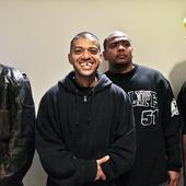 Racionais Mc's antes do show no sesc em 2009 (Mano Brown, Kl-Jay, Edy Rock e Ice Blue)