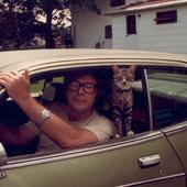 fahey with cat
